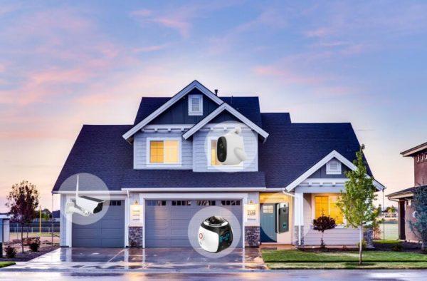 Smart home cctv camera IP cameras