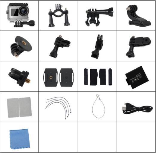 4K Camera accessories